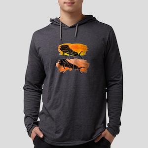 SUNSETTERS Mens Hooded Shirt