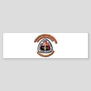 US - NAVY - USNSA - Danang Vietnam Sticker (Bumper
