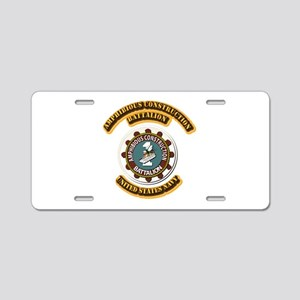 US - NAVY - Amphibious Const Bn Aluminum License P