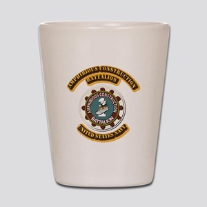 US - NAVY - Amphibious Const Bn Shot Glass
