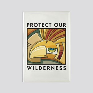 Protect Our Wilderness Rectangle Magnet