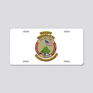 US - NAVY - USS Iwo Jima Aluminum License Plate