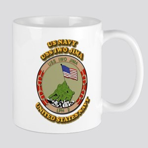 US - NAVY - USS Iwo Jima Mug