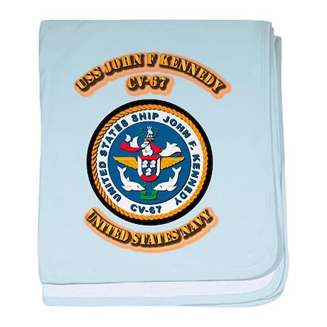 US - NAVY - USS John F Kennedy - CV-67 baby blanke