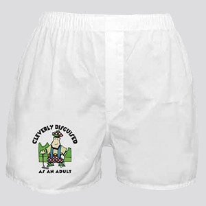 Cleverly Disguised As An Adult Boxer Shorts