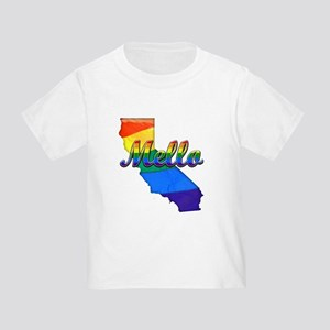 Mello, California. Gay Pride Toddler T-Shirt