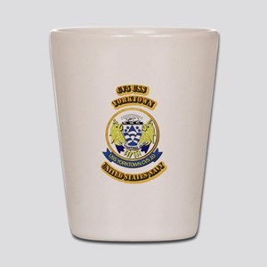 US - NAVY - CV5 USS Yorktown Shot Glass