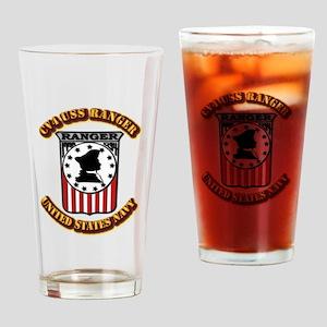 US - NAVY - CV4 - USS Ranger Drinking Glass