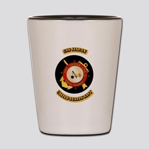 US - NAVY - USS Siapan Shot Glass