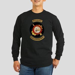 US - NAVY - USS Siapan Long Sleeve Dark T-Shirt