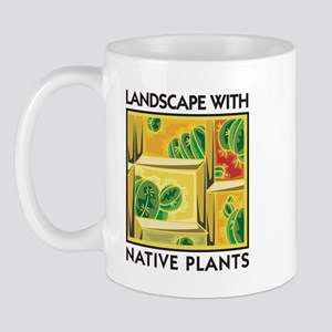 Landscape with Native Plants Mug