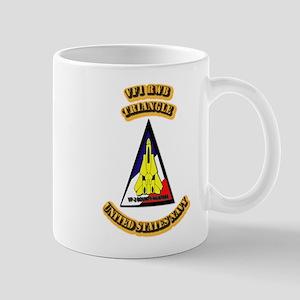 US - NAVY - VF-1 - RWB - Triangle Mug