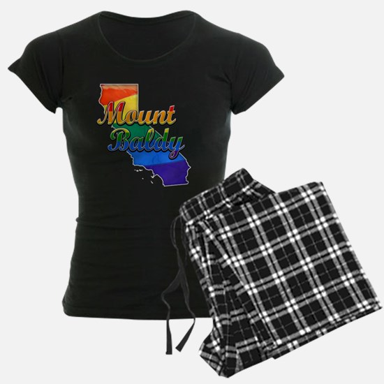 Mount Baldy, California. Gay Pride Pajamas