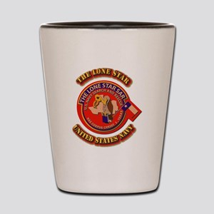 US - NAVY - The Lone Star Sar Shot Glass