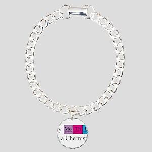 My Mother is a Chemist Charm Bracelet, One Charm