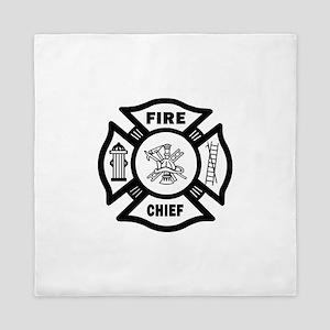 Fire Chief Queen Duvet
