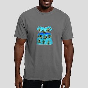THE NEW WORLD Mens Comfort Colors Shirt
