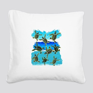 THE NEW WORLD Square Canvas Pillow