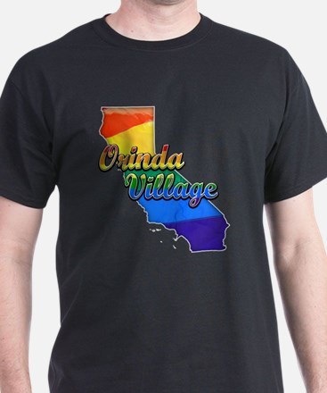Orinda Village, California. Gay Pride T-Shirt