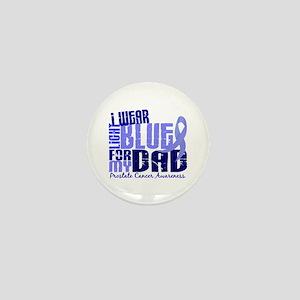 I Wear Light Blue 6.4 Prostate Cancer Mini Button