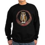Celtic Owl Sweatshirt (dark)