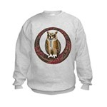 Celtic Owl Kids Sweatshirt