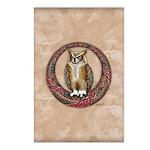 Celtic Owl Postcards (Package of 8)