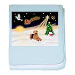 Night Flight/Airedale #5 baby blanket