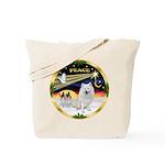 XmasDove/Am Eskimo Tote Bag