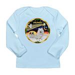 XmasDove/Am Eskimo Long Sleeve Infant T-Shirt