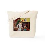 Santa & Anatolian Tote Bag