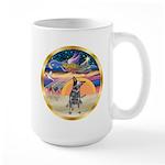XmasStar/Cattle Dog Large Mug