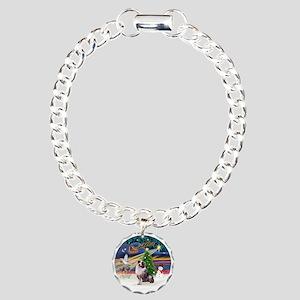 XmasMagic/Aussie (#1) Charm Bracelet, One Charm