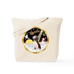 Night Flight/Beagle #2 Tote Bag