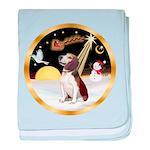 Night Flight/Beagle #2 baby blanket