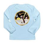 Night Flight/Beagle #2 Long Sleeve Infant T-Shirt