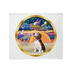XmasStar/Beagle 2 Throw Blanket