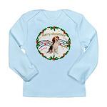 XmasMusic1MC/ Beagle Long Sleeve Infant T-Shirt
