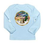 XmasMagic/Beardie #16 Long Sleeve Infant T-Shirt