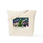 Xmas Magic & Beardie Tote Bag