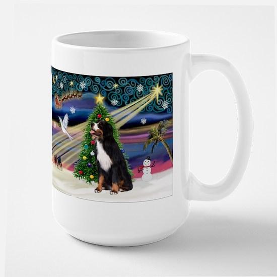 Xmas Magic & Bernese Large Mug