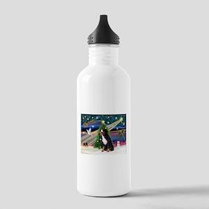 Xmas Magic & Bernese Stainless Water Bottle 1.0L