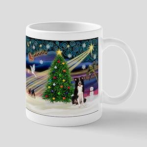 Xmas Magic & Border Collie Mug