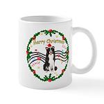 XmasMusic1MC/Border Collie Mug