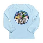 Xmas Magic / 3 Boxers Long Sleeve Infant T-Shirt