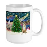 Xmas Magic & Boxer Large Mug