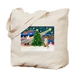 Xmas Magic & Boxer Tote Bag