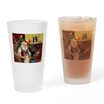 Santa's Boxer (#1) Drinking Glass
