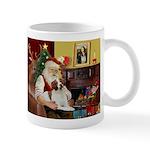 Santa & His Brittany Mug