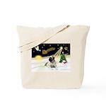 Night Flight/Mastiff 4 Tote Bag